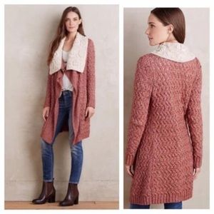 {Anthro} Knitted & Knotted Lilitz Cardigan